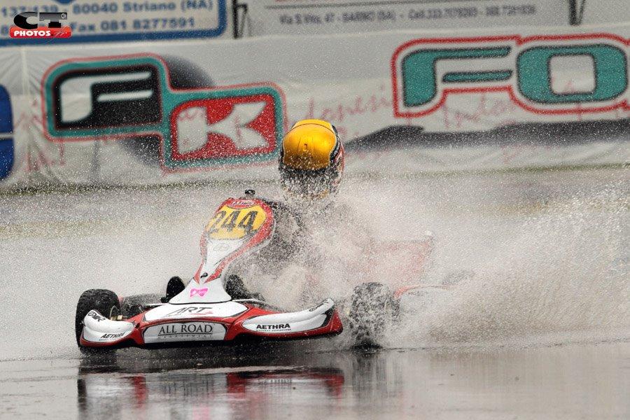 Charles Leclerc remporte la première manche du WSK Euro Series et mène le championnat !