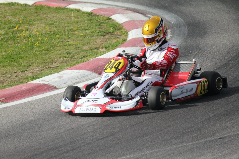 WSK Euro Series : l'interview de Charles par 422race.com