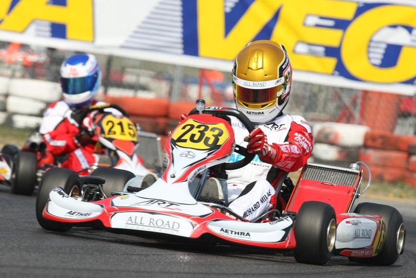 Charles Leclerc termine à la septième place du Trofeo Margutti !