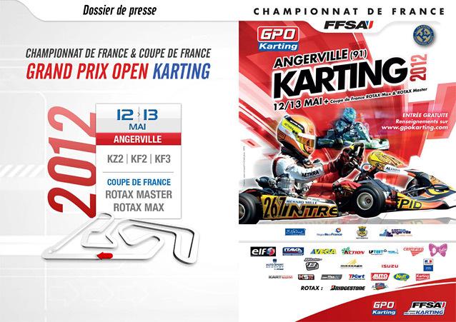 Une semaine après le WSK Euro Series, voici la deuxième manche du championnat de France (GPO) à Angerville !