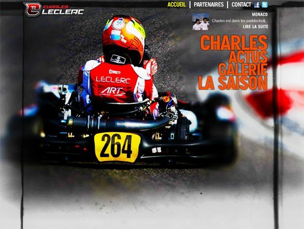 Le nouveau site officiel de Charles est en ligne
