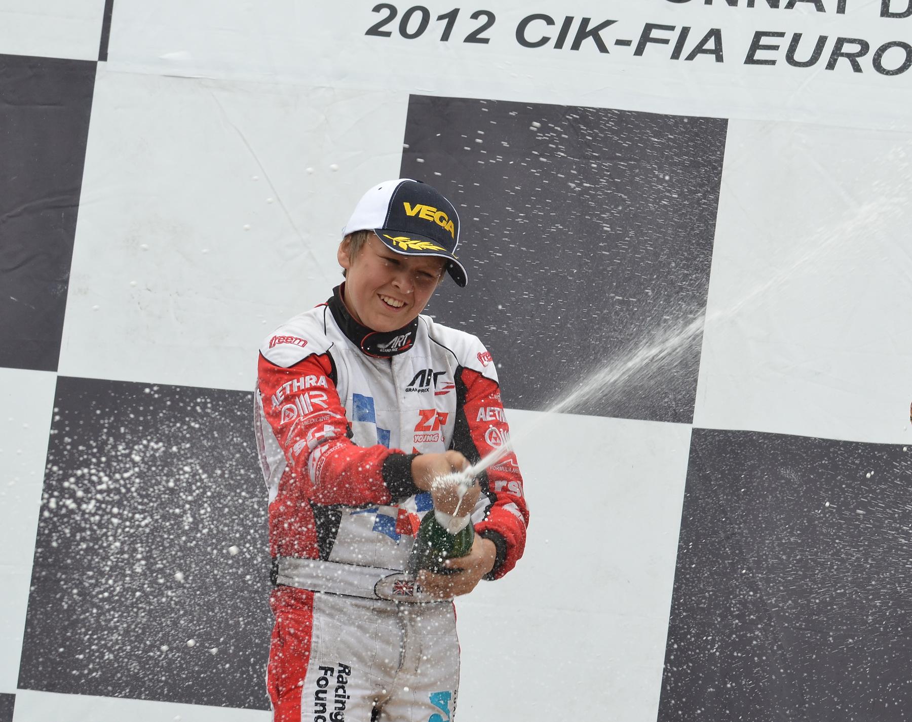 Ben Barnicoat devient finalement Champion d'Europe KF2 !