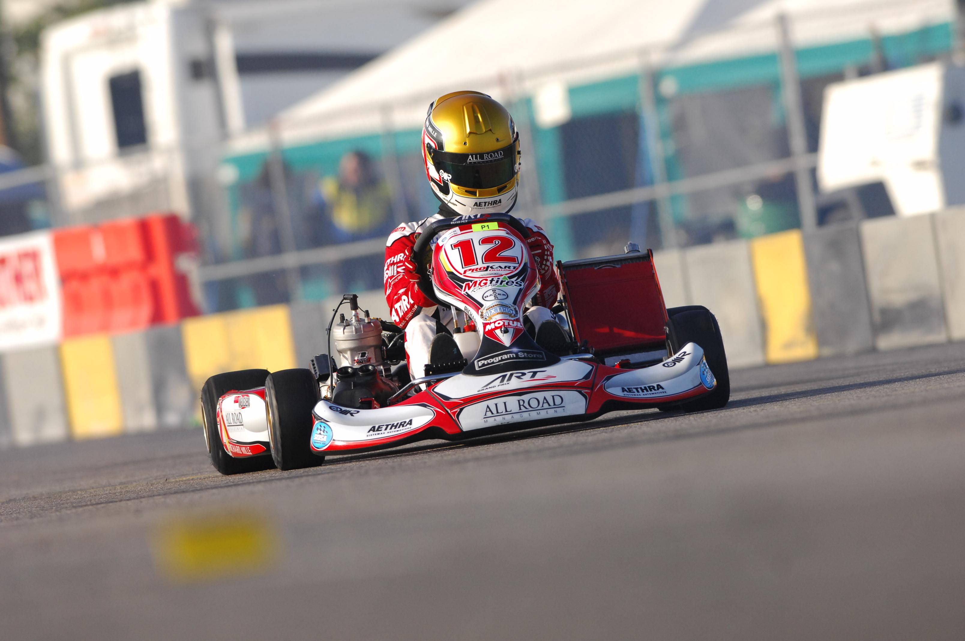 SKUSA : Charles Leclerc termine au pied du podium !
