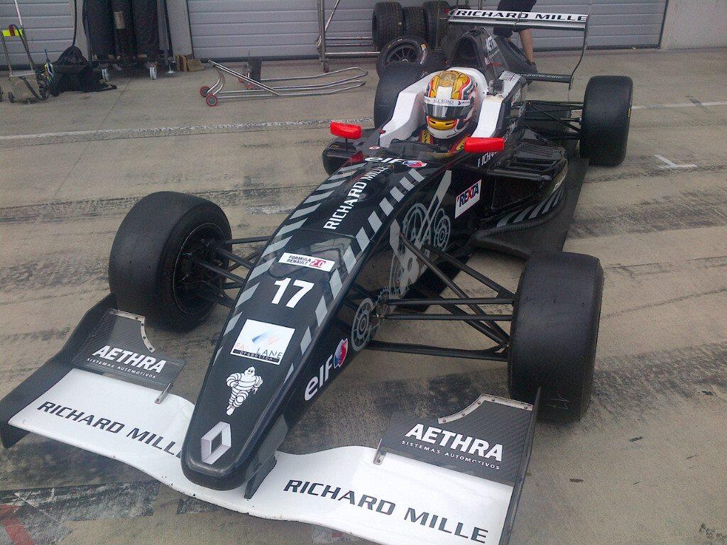 ALPS 2014 - Red Bull Ring : Charles est dans le rythme