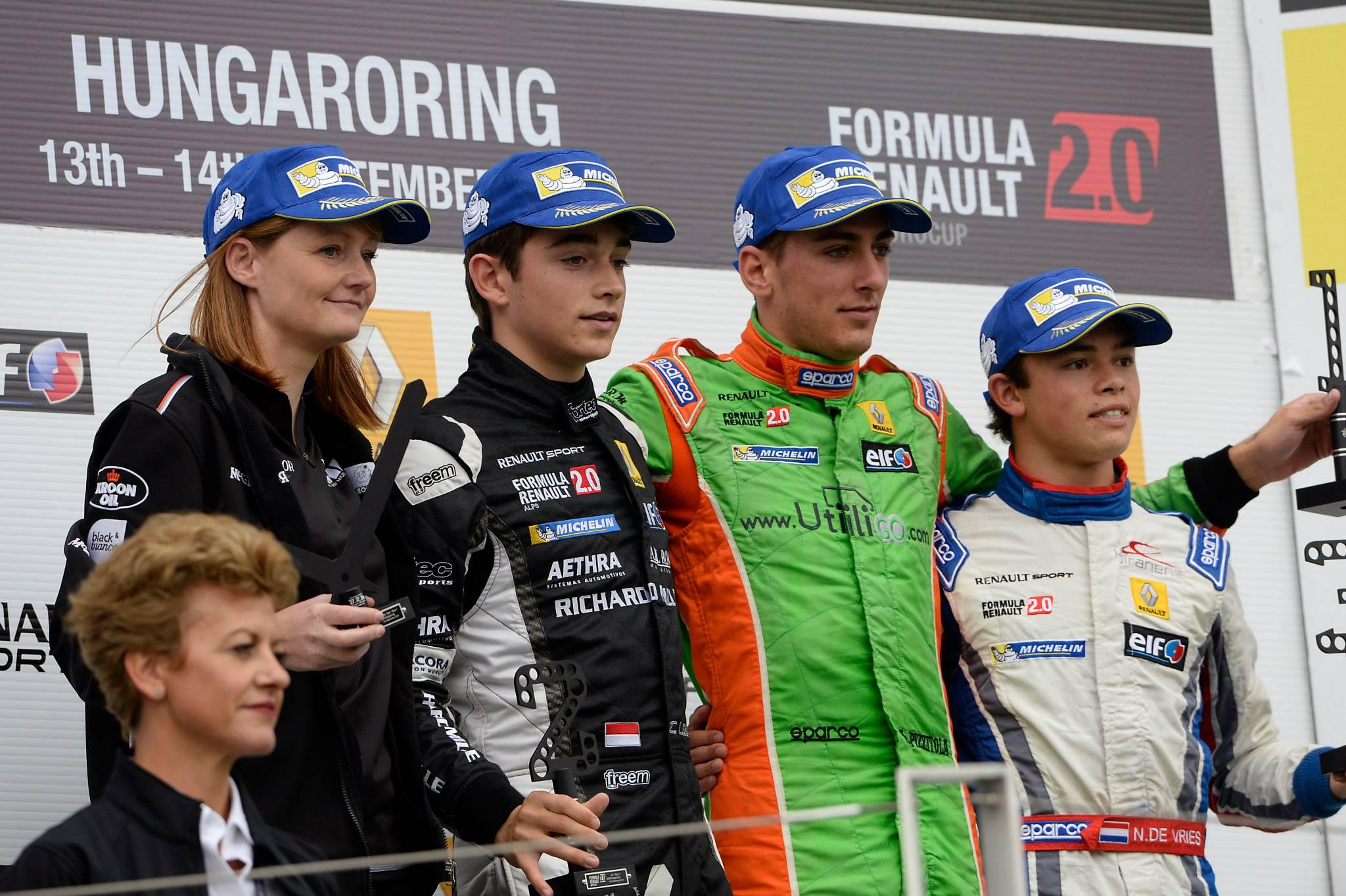 Eurocup 2014 - Hungaroring : Charles en abonné au podium !