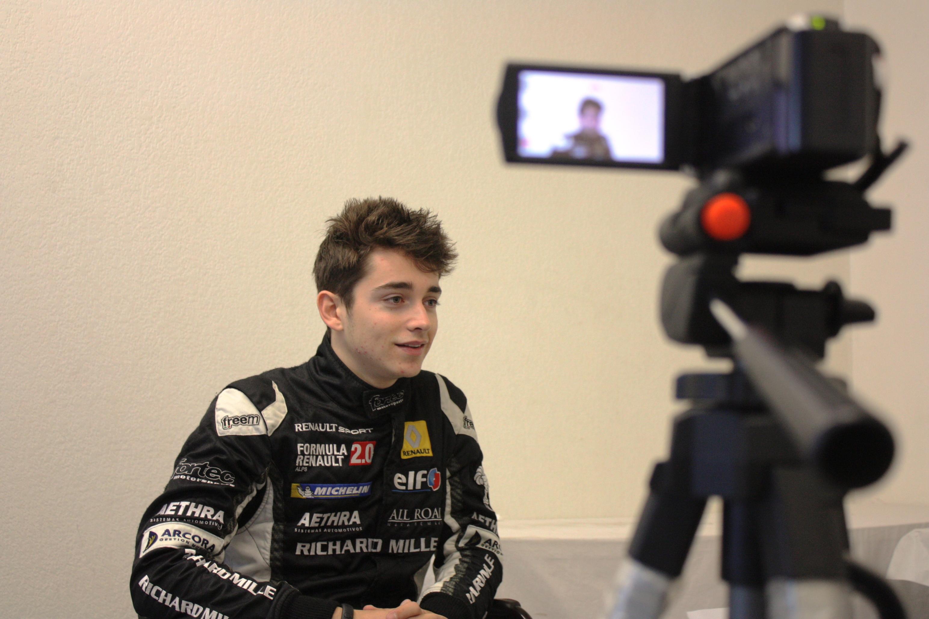Exclu : Interview avec Charles Leclerc !