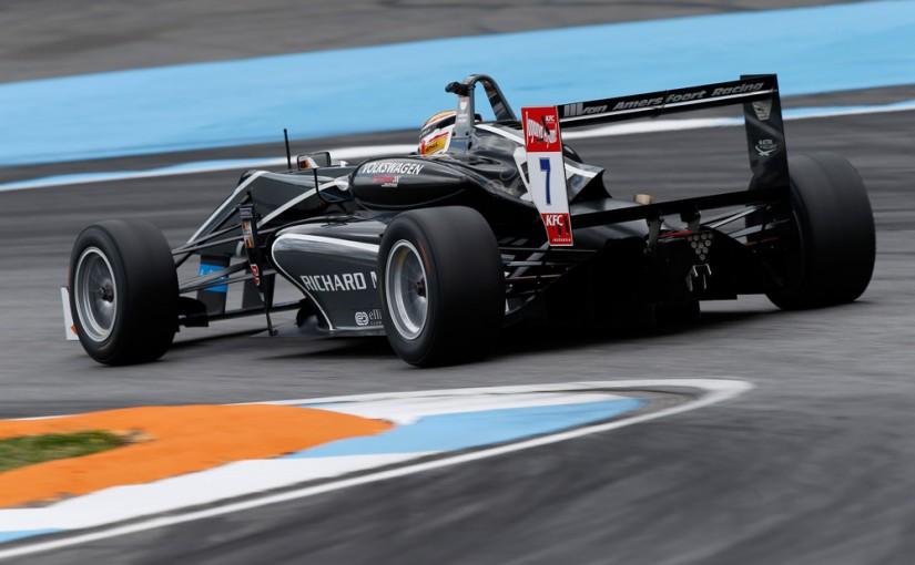 F3 FIA - Hockenheim : troisième podium en quatre courses !