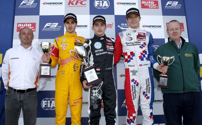 F3 FIA - Silverstone : pour Jules !