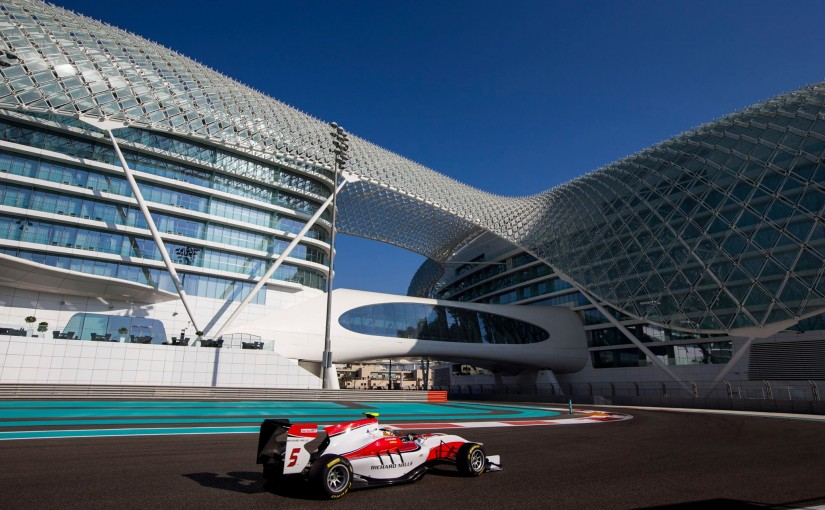 Essais GP3 à Abu Dhabi : record de la piste pour Charles !