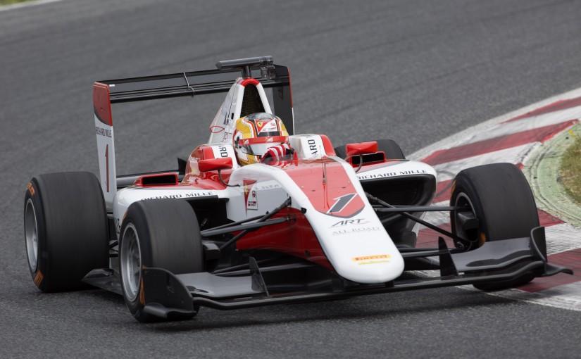 GP3 Series - Tests collectifs à Barcelone : Charles est dans le coup !