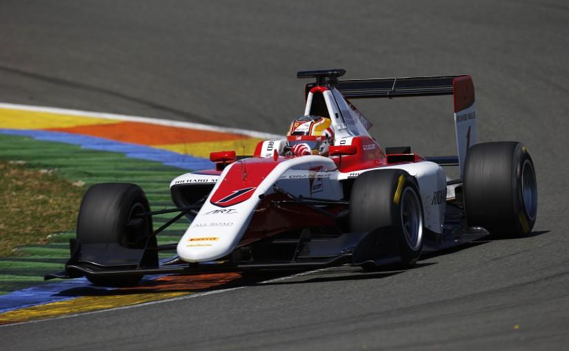 GP3 Series - Tests collectifs de Valencia : Charles troisième à l'issue des deux jours !