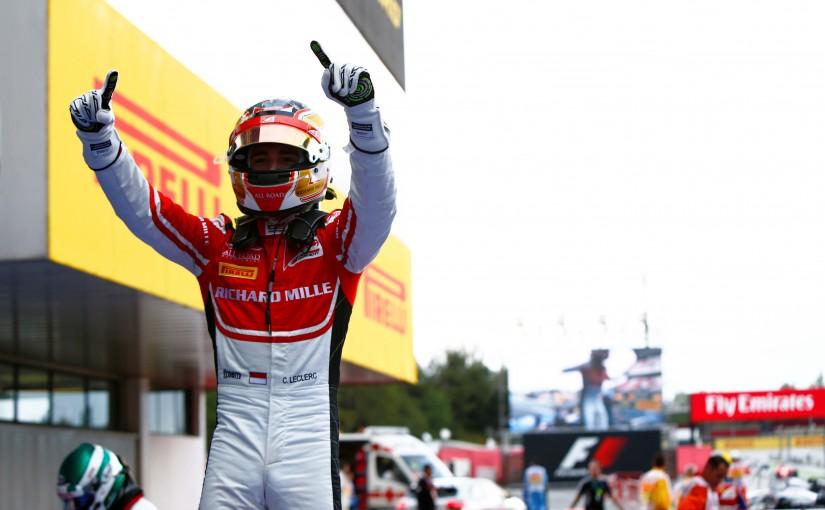 GP3 Series - Barcelone : Charles déjà vainqueur !