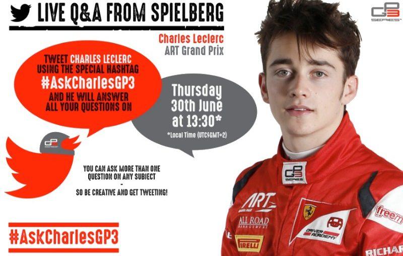 Charles a répondu au hashtag #AskCharlesGP3