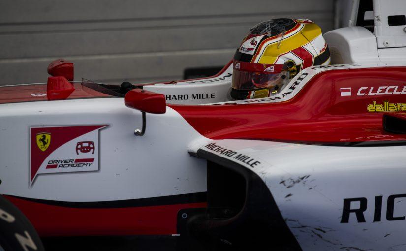 GP3 Series - Hungaroring : Charles limite les dégâts