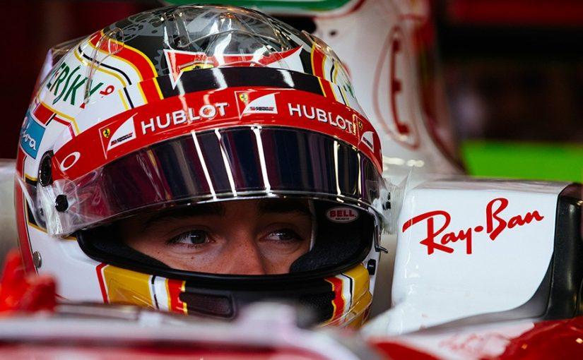 Formule 1 - Silverstone : Charles était en piste avec la Ferrari 2016