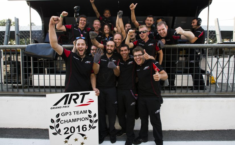 GP3 Series - Monza : ART GP remporte le titre !