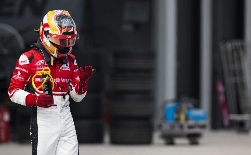 GP3 Series - Sepang : Charles encore touché par un équipier !