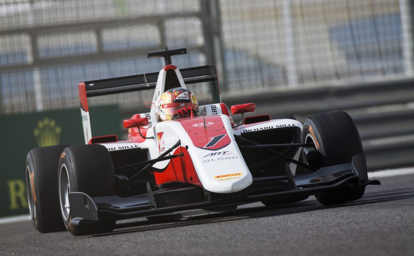 GP3 Series - Abu Dhabi : Albon en pole mais sous pression !