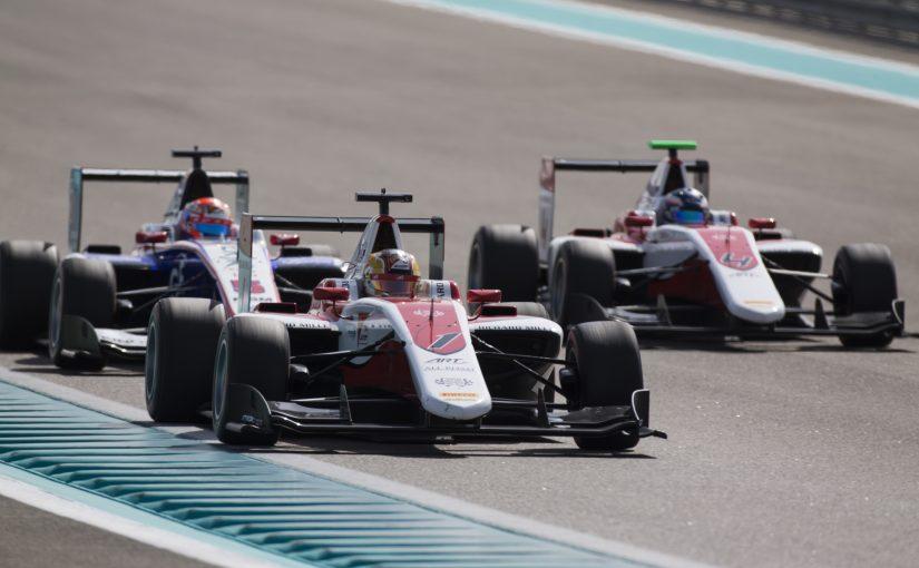 GP3 Series - Abu Dhabi : belle remontée de Charles !