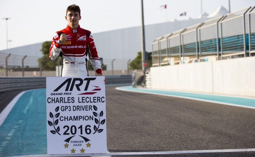 GP3 Series - Abu Dhabi : Charles est le nouveau champion !