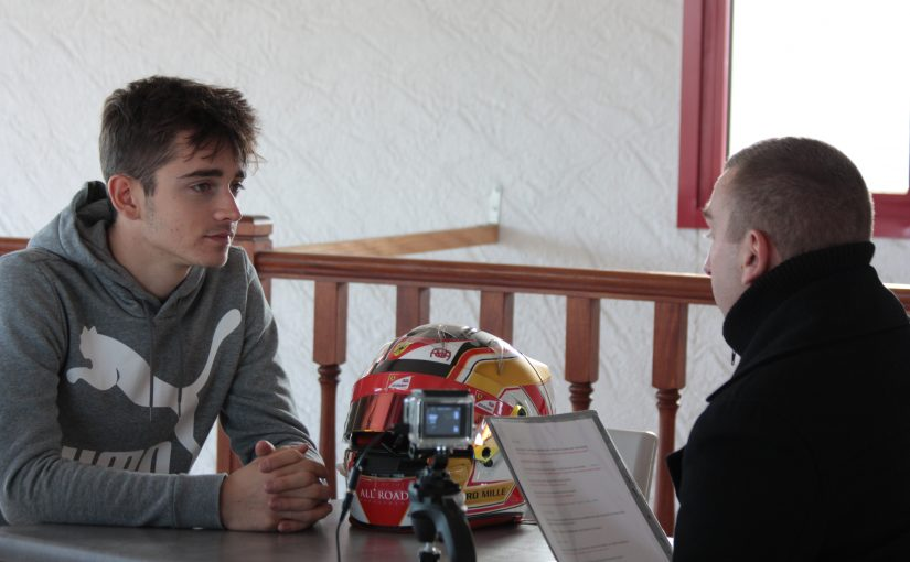 Interview avec Charles !
