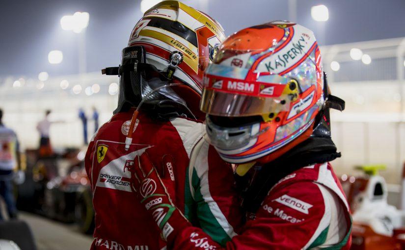 F2 FIA - Bahreïn : Charles signe déjà la pole position !