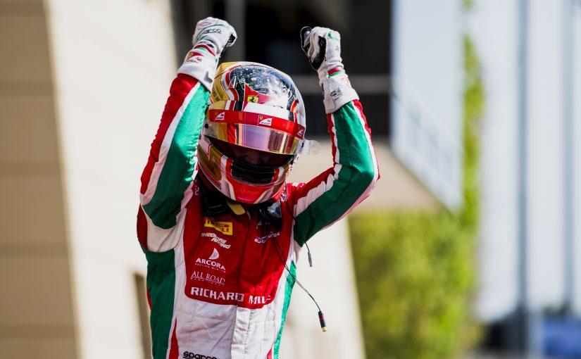 FIA F2 - Bahrain - Course 2 : Jules serait si fier de son poulain !