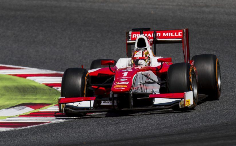 FIA F2 - Barcelone - Course 2 : Charles déjà bien devant !