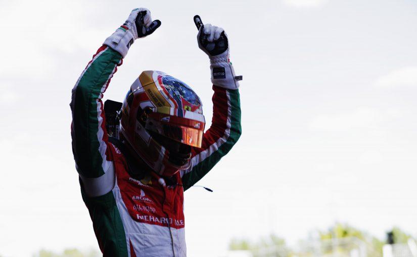 FIA F2 - Barcelone : Charles vainqueur de la course longue !