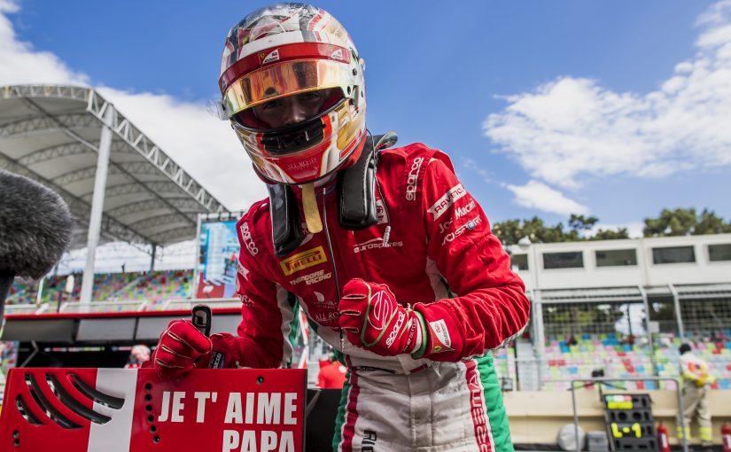 FIA F2 - Baku : Charles signe sa quatrième pole de la saison !