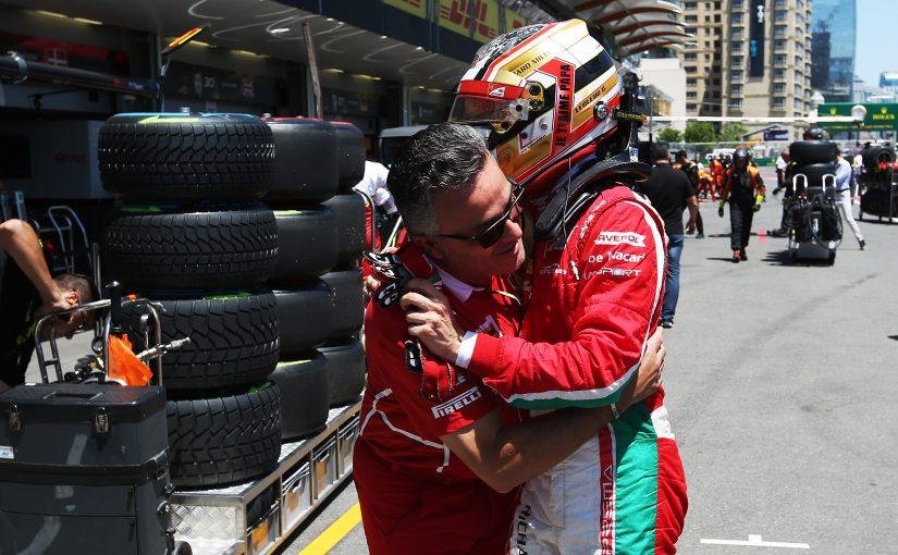 FIA F2 - Baku - Course 1 : Charles gagne pour son père !