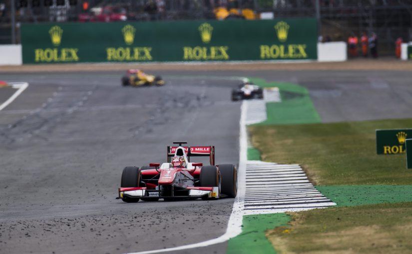 FIA F2 - Silverstone - Course 2 : Charles termine cinquième.