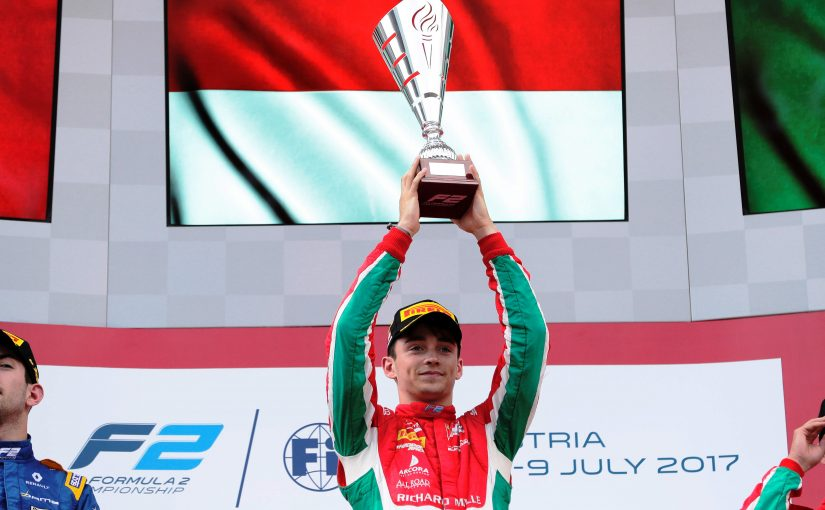 FIA F2 - Red Bull Ring : Charles à nouveau vainqueur !