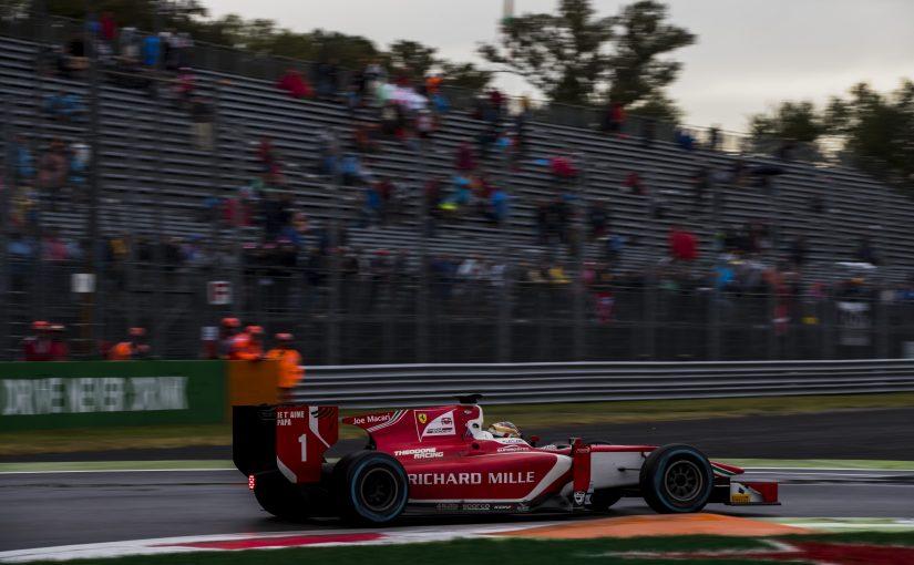 FIA F2 - Monza : Charles sorti par Nyck de Vries !