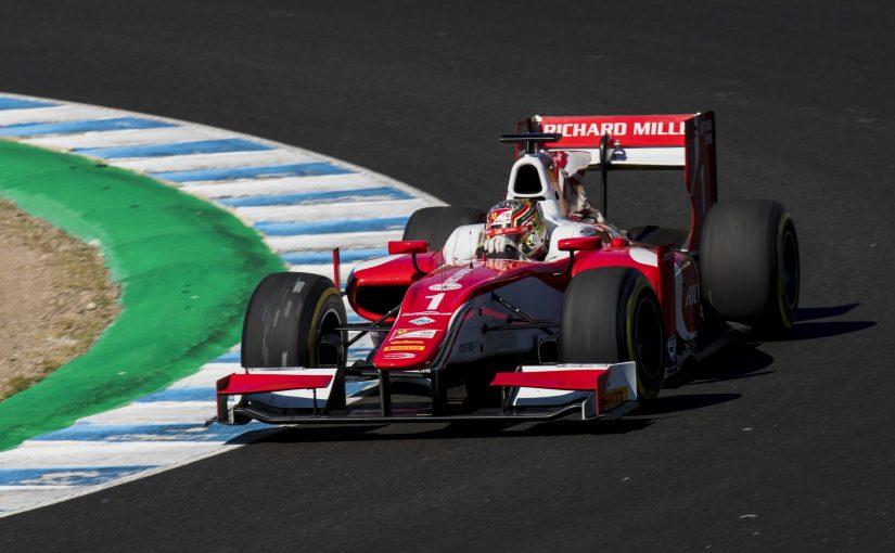 F2 FIA - Jerez : Charles en pole pour le titre !