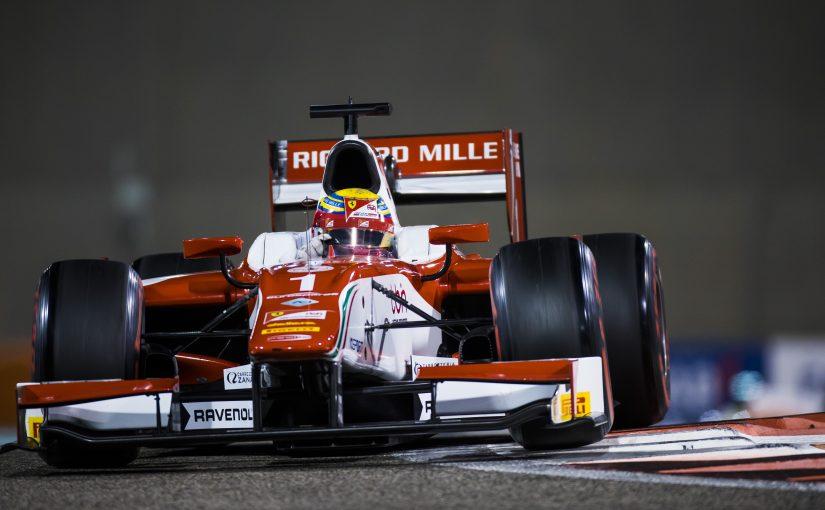 FIA F2 - Abu Dhabi - Course 1 : Charles manque le podium pour 15 millièmes !