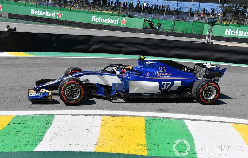 F1 - Essais Libres 1 - Interlagos : Charles juste devant Ericsson !