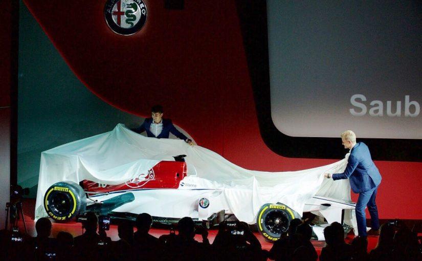 F1 : La monoplace de Charles présentée le 20 février !
