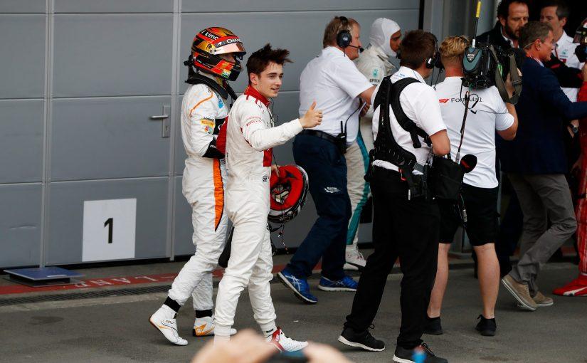 F1 - Baku : Charles marque ses premiers points en terminant sixième !