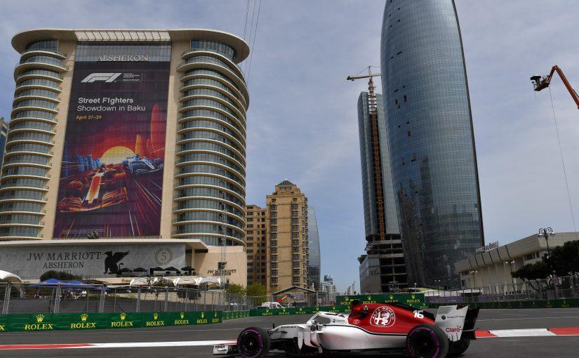 F1 - Baku : un vendredi positif !