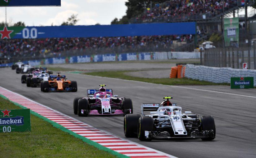 F1 - Barcelone : Charles encore dans les points !