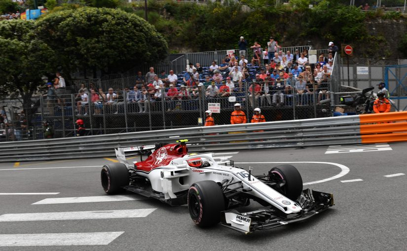 F1 - Monaco : Charles déjà loin devant Ericsson !