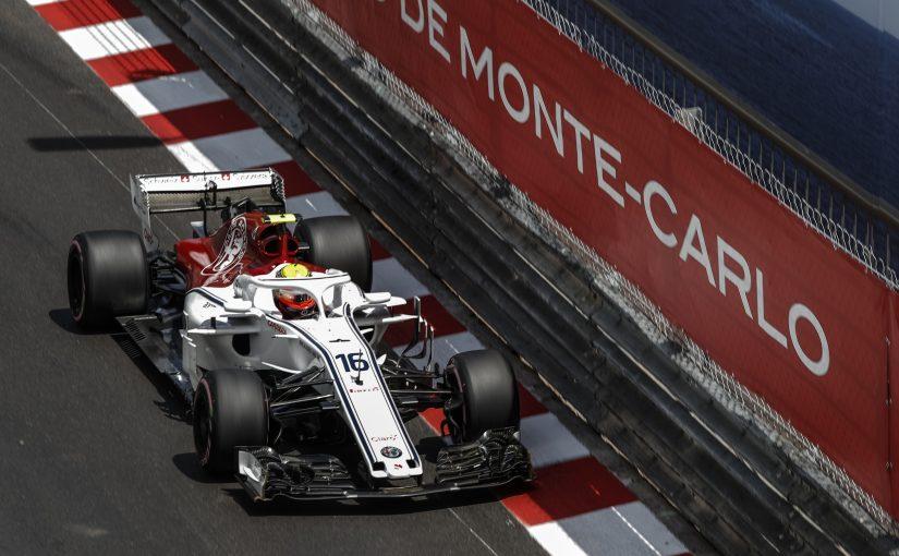 F1 - Monaco : Charles victime de ses freins !