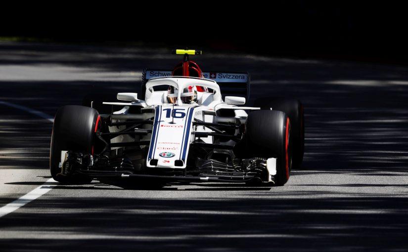F1 - Montréal : Charles déjà très à l'aise, sa Sauber aussi !