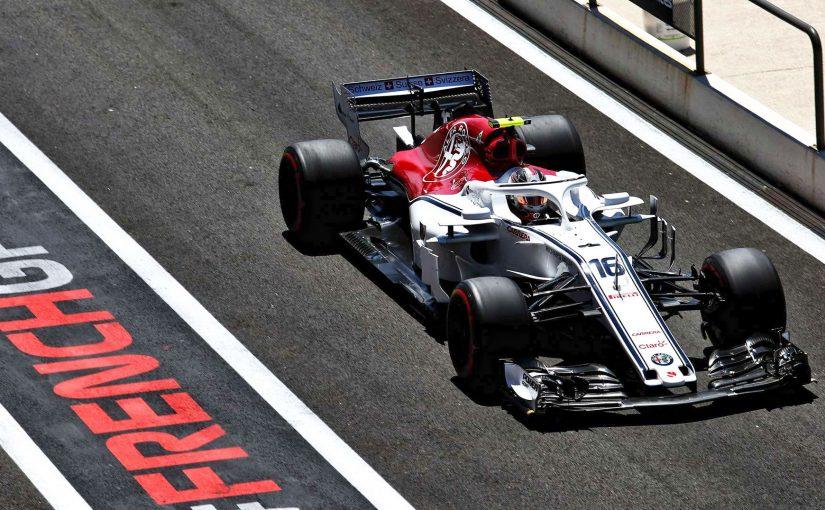 F1 - Castellet : Charles en forme, Ericsson en feu !