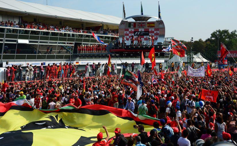 F1 : en route pour Monza !