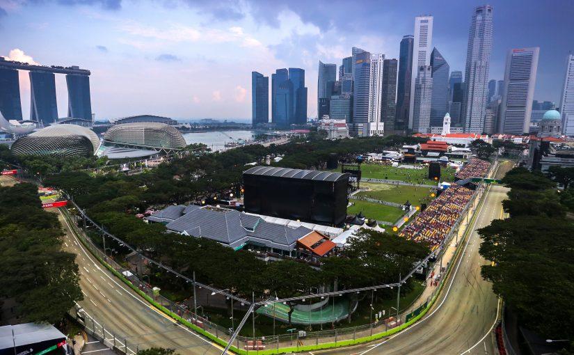 F1 : en route pour Singapour !