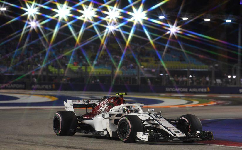 F1 - Singapour : les Sauber pas très loin du TOP 10