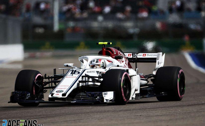 F1 - Sotchi : une journée productive pour Charles