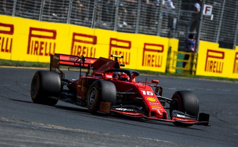 F1 - Melbourne : des Ferrari transparentes !